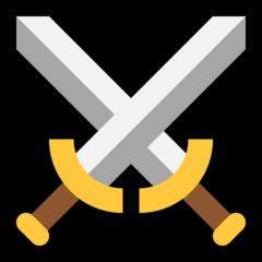 Crossed swords emoji