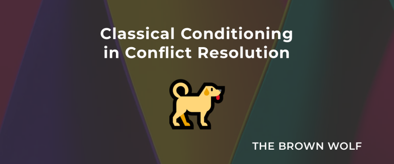 Classical Conditioning in Conflict Resolution