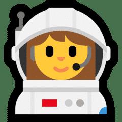 Woman astronaut emoji